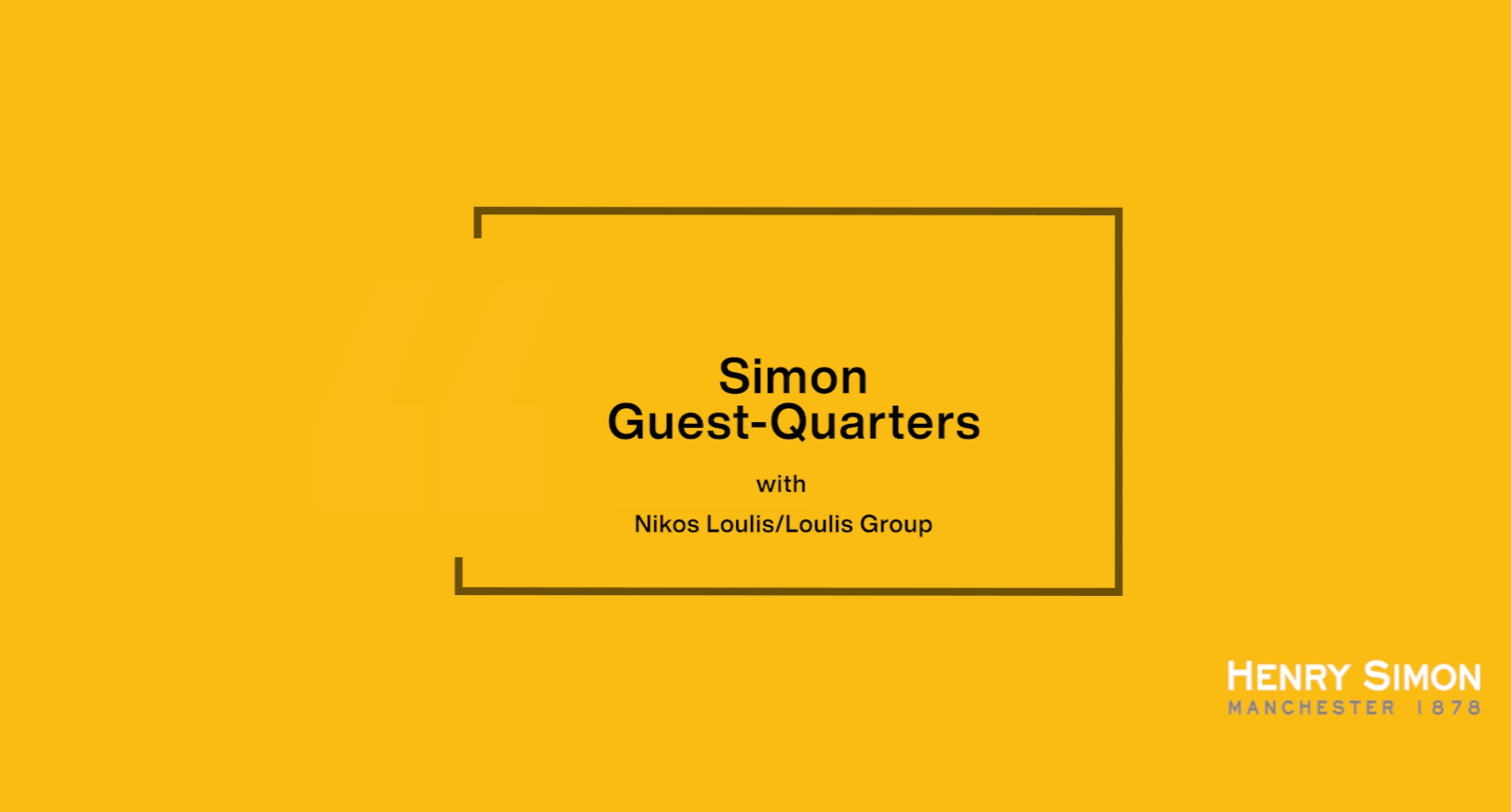 Simon Guest-Quarters with Nikos Loulis/Loulis Group
