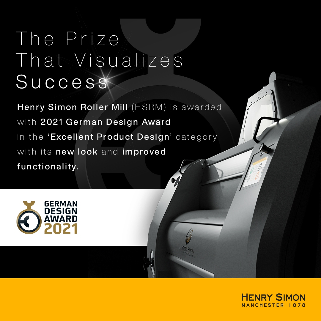 Henry Simon Roller Mill Recognized by German Design Committee