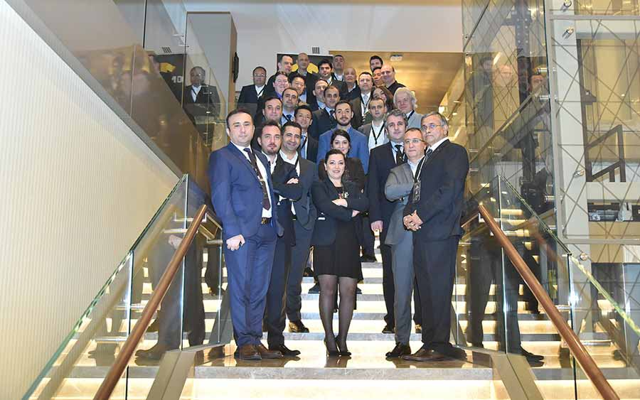 Henry Simon Held It's One Team Strategıc Meeting in İstanbul