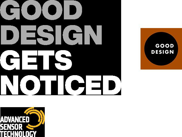 Good Design Gets Noticed